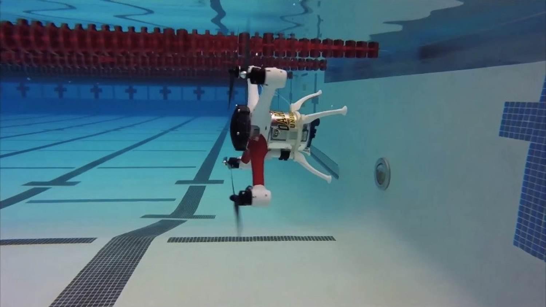 Un autre drone qui aime l'eau